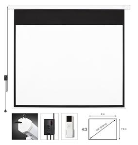 Fonestar pantalla proyector el ctrica en electronica de for Pantalla proyector electrica